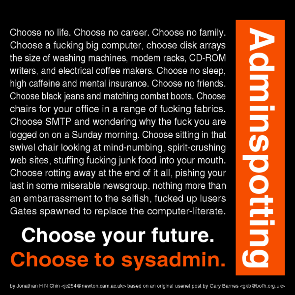 choose_to_sysadmin