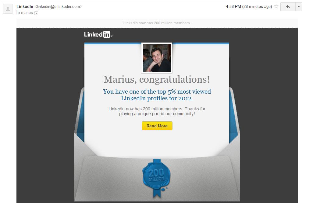 LinkedIn5percent